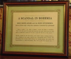 A Scandal in Bohemia by MrsCumberbatch