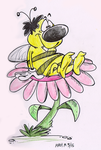 Bubble the bee by Granitoons
