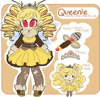 Queenie Ref by undead-alien