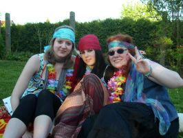 Hippies Me and my friends by Lelias