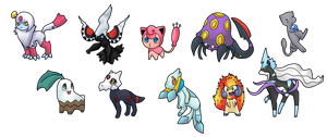 Pokefusion adopts by CleverConflict