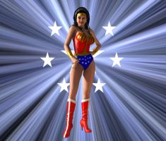 You are a wonder, Wonder Woman... by kevmann