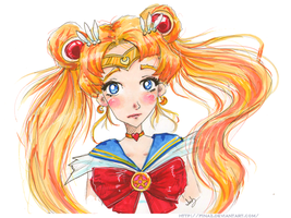 Sailor Moon by Finaz