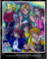 Final Fantasy : Kingdom Hearts by kingv