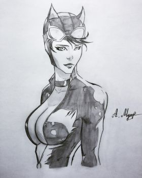 Catwoman (2017) by mutal-ali