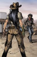Wild West Witchblade by BlondTheColorist