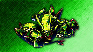 Rayquaza Wallpaper by Glench