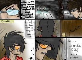 Zac x Eldrich comic - The beginning - fight - pt1 by Sniperisawesome