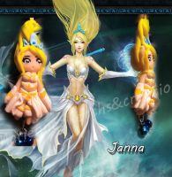 Janna - League of Legends by DarkettinaMarienne