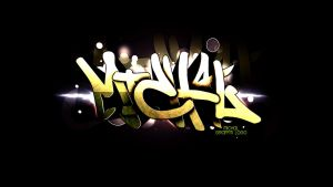 Graffiti for my mate by PatrickFX