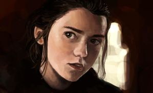 Arya Stark by Anday