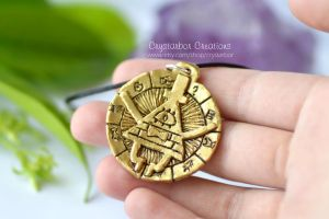 Bill Cipher necklace | Gravity Falls by Crystarbor