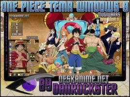 Mugiwaras Theme Windows 8 by Danrockster