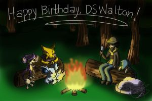 Birthday Gift for DSWalton by TotoRee12