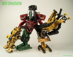 ROTF Legends Devastator by Unicron9
