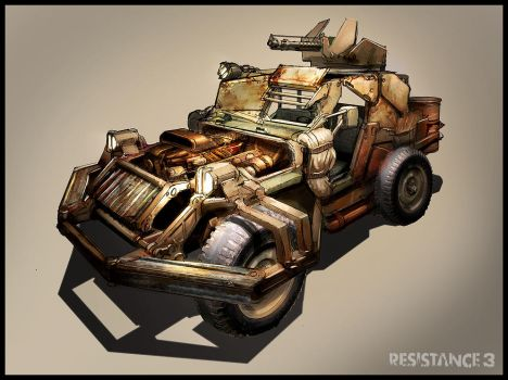 R3 Prison Warden Jeep by MeckanicalMind