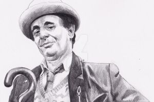 Sylvester McCoy as Doctor Who by Kate-Murray