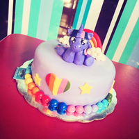 Twilight Sparkle Birthday Cake by Jarquin10