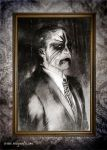 Horror business the painting by Robgrafix