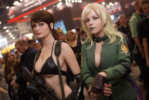 Metal Gear Cosplay, Quiet and Sniper Wolf by Vasya-chan