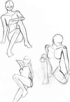 Sketches 1 by Faos
