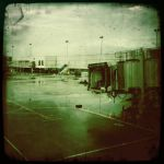 Airports Are For Waiting by PeekaBooPeeper