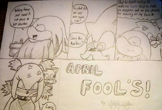 April Fool's Knuckle Heads! by Unleashedwarrior