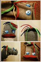 MR.FIZZLES PUPPET by ChibiVillage