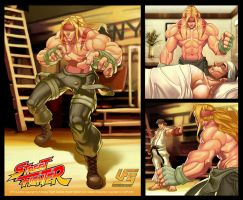 UFS Cards Street Fighter-Alex by Markovah