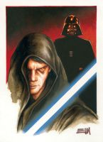 Anakin Skywalker / Darth Vader by Erik-Maell
