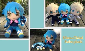 Nitro+Chiral Aoba plush by Laurel-Lion