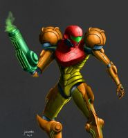 Samus Aran by QubixDesign
