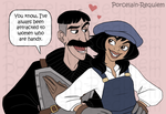 Vinny and Audrey by Porcelain-Requiem