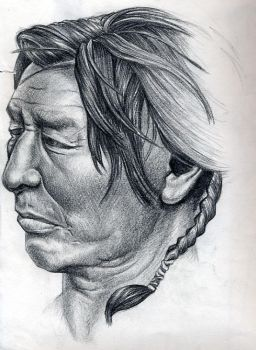 Indian Head Illustration by ThePrimith
