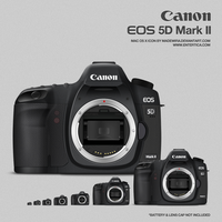Canon EOS 5D Mark II by madewira
