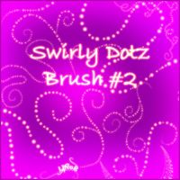 Swirly dotz brush 2 by LiNoR