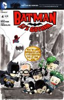 Li'l Gotham sketch cover01 by ickhwano