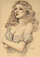 Sketch for Anna Lucia by WilltheArtMan