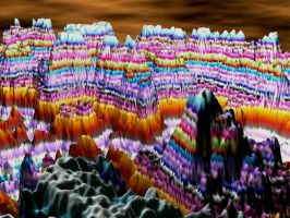 Candy Mountain 3d by Gibson125