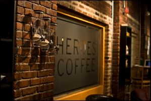Heroes Coffee by Staticpictures