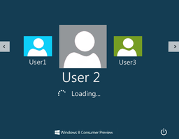 windows 8 consumer preview logon by Hawen005 by hawen005