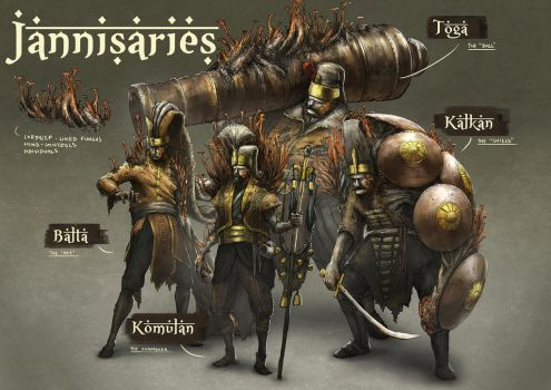 Janissaries Concept by yongs