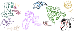 More Stream Doodles by ive-moved-bitches