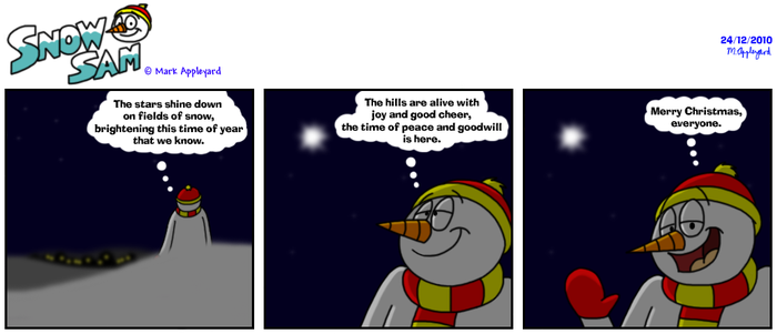 Snow Sam Comic 94 by BluebottleFlyer