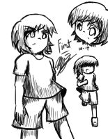 First Life Sketches by chaosphoniex