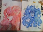 Vriska and aradia by Soulora