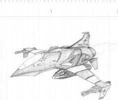 Air Superiority Fighter by DissidentZombie