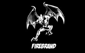 Firebrand / Red Arremer Black and White by Corn102903