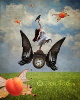 On the wings of time by PattiPix