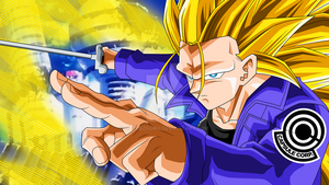 Trunks SSJ3 Scene DBH by cdzdbzGOKU